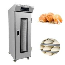 Wysokiej jakości komercyjny fermentor chleba 16 tacek na parze maszyna do fermentacji chleba na stołówce