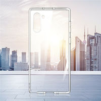 galaxy note YISAHNGOU For Samsung Galaxy Note 10 Plus 8 9 A50 A70 Ultra-thin TPU Transparent Soft Case Cover For Samsung S8 S9 S10 Plus S10E (4)