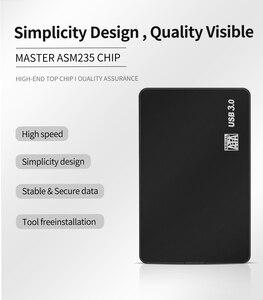 Чехол TISHRIC для жесткого диска USB 3 USB2.0/3,0 для SSD Внешний жесткий диск HDD бокс/карман 2,5 HD SATA для USB до 10 ТБ 5 Гбит/с