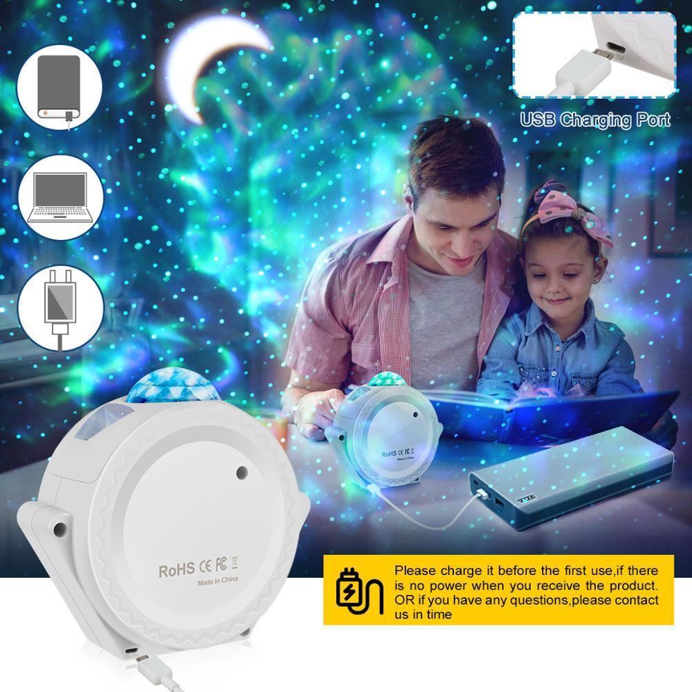 projetor led nebulosa nuvem noite luz de 03
