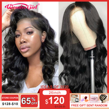 Wonder girl Body Wave Wig 13x6 Lace Front Human Hair