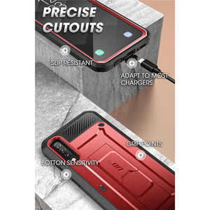 Image 5 - SUPCASE Samsung Galaxy A50/A30s çantası (2019) UB Pro tam vücut sağlam kılıf kılıf ile ekran koruyucu ve Kickstand