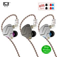 KZ ZSN PRO 1DD 1BA casque métal HIFI hybride dans loreille écouteur Sport antibruit casque AS10 ZSTX ZSN ES4 ZS10 PRO V80 AS16