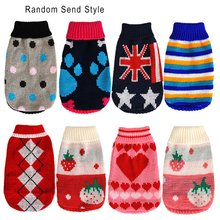 Knitting Design Waterproof Pet Dogs Keep Warm Clothing Soft Cotton Jack Puppies Clothes Wear