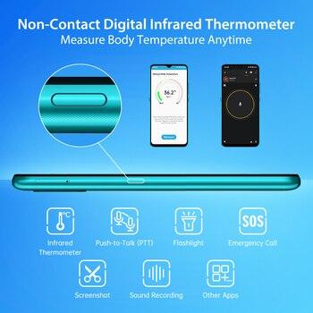 "In-Stock UMIDIGI A7S Smart Phone 6.53"" Screen 32GB 4150mAh Triple Camera Global Version Cellphone Infrared Temperature Sensor 4"