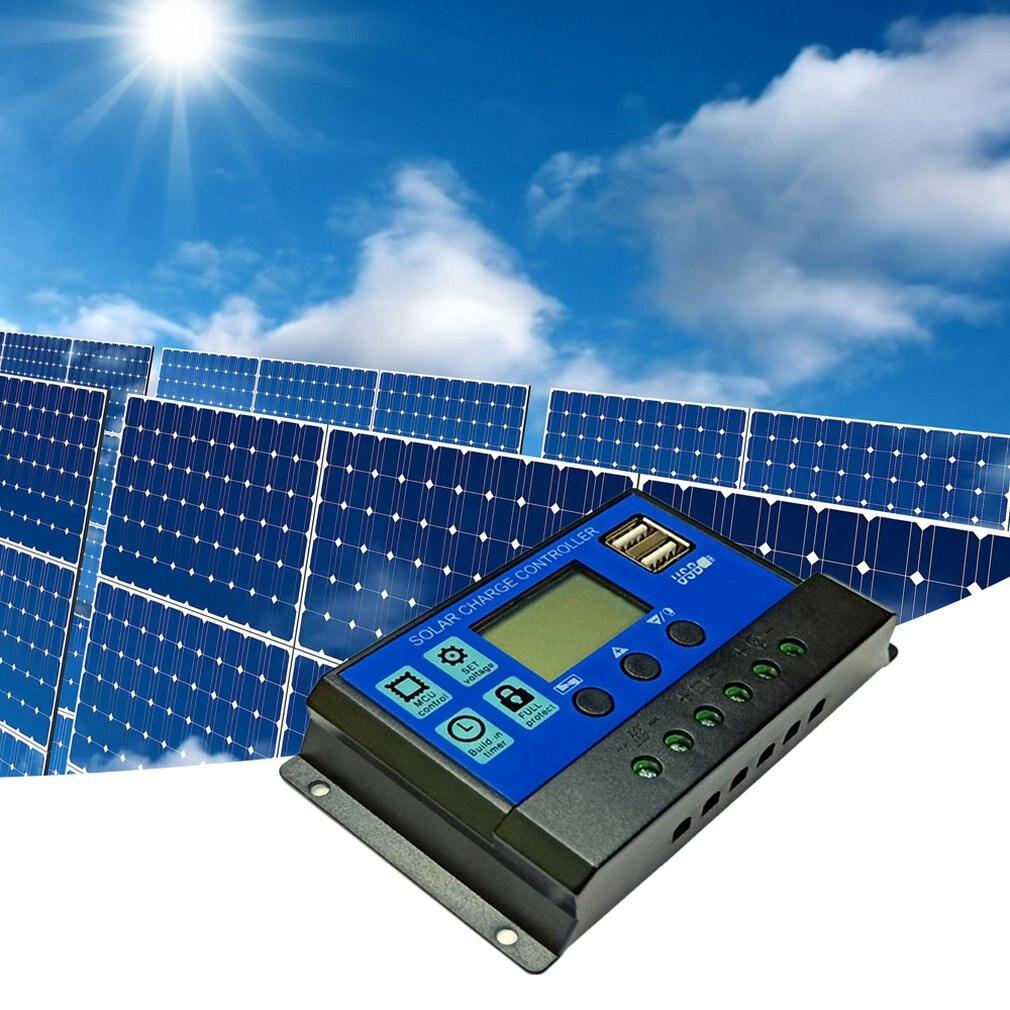 Regolatore solare di Controllo Della Luce Luce di Via HA CONDOTTO LA Luce di Controllo del Tempo di Riconoscimento Automatico Doppia Interfaccia USB di Ricarica