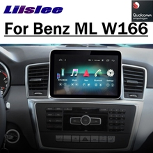 Para mercedes benz mb m ml classe w166 2012 2019 carro multimídia jogador navi carplay rádio do carro sem fio navegação gps