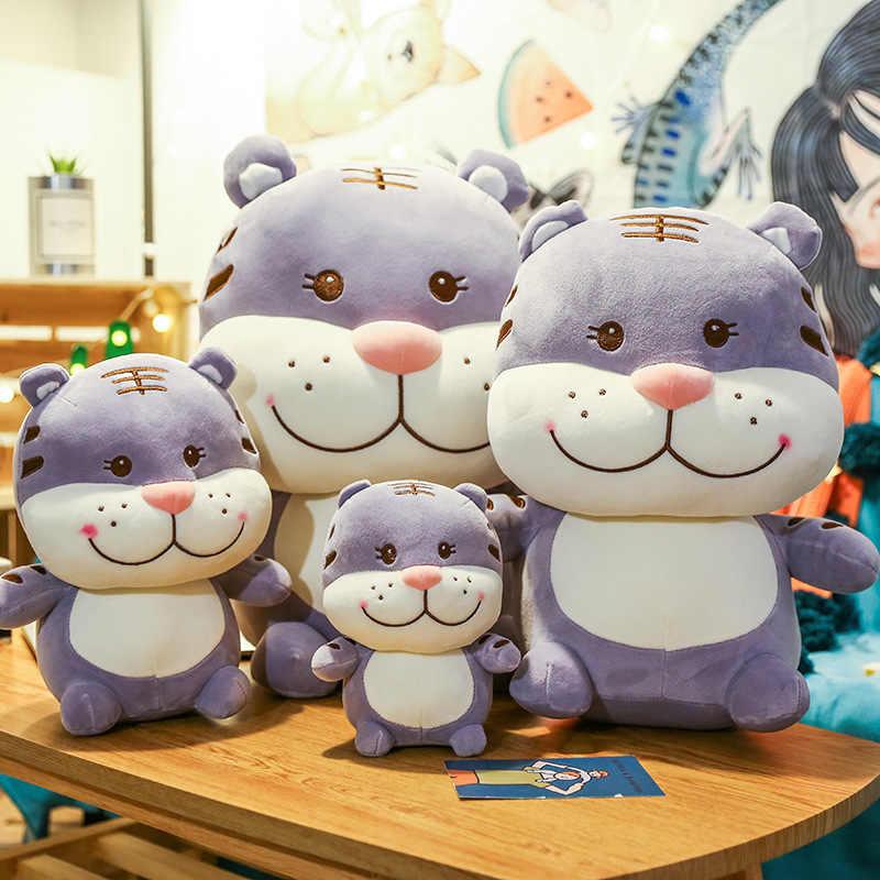 Креативный улыбка Менг тигр плюшевые игрушки новый стиль вечерние животные