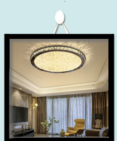 He4879622e8154fc4bd7af7767d17f78bO Surface mounted modern led ceiling lights for living room Bed room light White/Brown plafondlamp home lighting led Ceiling Lamp