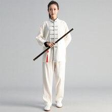 Autunno Inverno della Donna Degli Uomini di Tai Chi Esercizio di Abbigliamento Suit Tai Chi Squadra di Arti Marziali Concorrenza Vestito di Abbigliamento Tradizionale Cinese