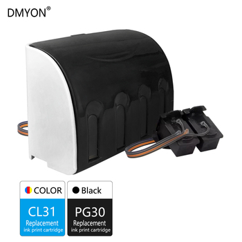 DMYON PG30 CL31 XL CISS Bulk Ink Replacement for Canon PG30 CL31 for PIXMA IP1800 IP2600 MP140 MP210 MP470 MX300 Printer