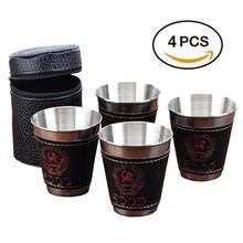 4 шт/лот 70 мл чашка для кемпинга чашки путешествий посуда пикника
