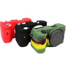 Dla Sony A6600 kamery etui na Sony 6600 futerał na aparat wysokiej jakości Protector silikonowe alfa 6600 ILCE 6600 futerał na aparat s