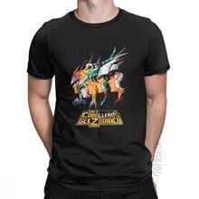 Los Caballeros Del Zodiaco T-Shirt uomo cavalieri dello Zodiaco T shirt Saint Seiya anni '90 Anime Tee Graphic Designer top O collo