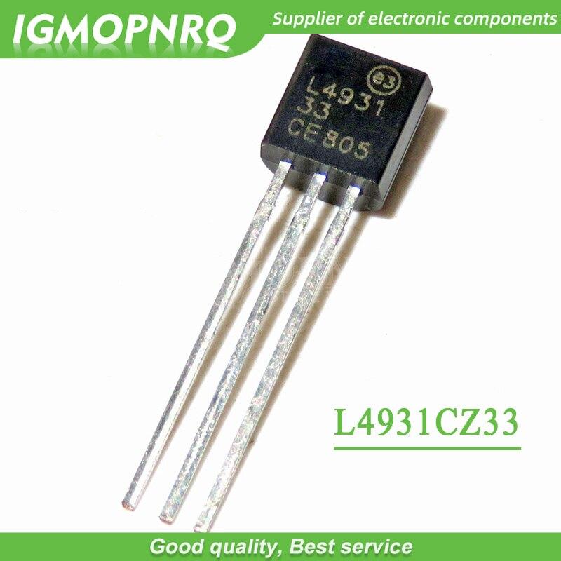 10pcs/lot L4931CZ33 TO-92 New Original