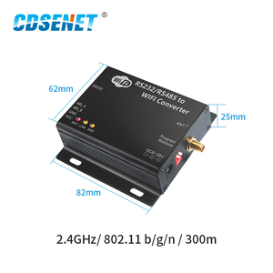 Image 2 - 2.4GHz WIFI DTU Wireless rf Module RS232 RS485 Serial Port CDSENET E103 W02 DTU CC3200 2.4 ghz Transmitter WIFI Server