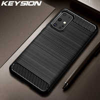 KEYSION Shockproof Case for Samsung Galaxy S20 Plus S20 Ultra S10 S9 Phone Cover for Samsung A51 A71 81 A91 A11 A21 A41 A70e A01