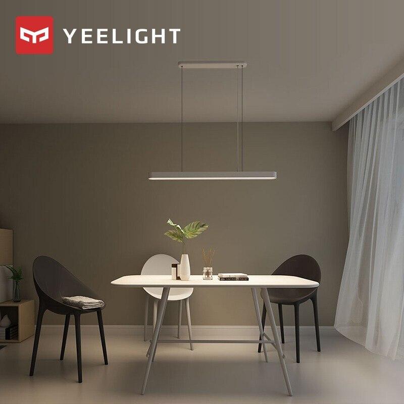YEELIGHT Smart pendentif LED lampe dîner lumières Support APP télécommande atmosphère colorée pour salle à manger Restaurant - 3