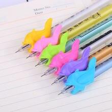 10 шт/компл держатель для карандашей с рыбками детей письма