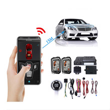 Car-Anti-Theft-Alarm Mobile-Phone Remote-Control Locking-Door Engine-Start-Central Autostart