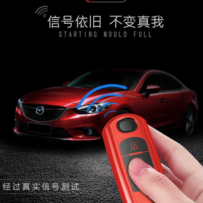 New Tpu Car Remote Key Case Cover For Mazda 2 3 6 Axela Atenza CX 5 CX5 CX 7 CX 9 2014 2015 2016 2017 Smart 2 3 Buttons in Key Case for Car from Automobiles Motorcycles