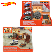 Original Hot Wheels Match Guard Bank Box Small Sports Car Model Jeep Toys for