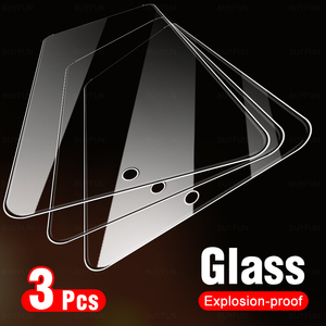 Image 1 - 3 Pcs Protective Glass For Samsung A72 9H Screen Protector On The For Samsung Galaxy A72 5G A71 A7 A 7 2 1 71 72 Tempered Film