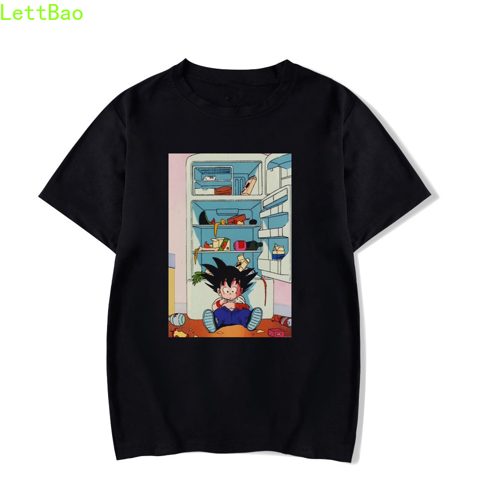 Dragon Ball T-shirt Super Saiyan Dragon Ball Z Son Goku T-shirt japon végéta Anime T-shirt hommes/femmes haut d'été T-shirt Homme image