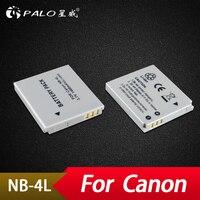 Palo 2 pièces NB-4L NB4L NB 4L Li-ion batterie batterie appareil photo pour Canon IXUS 30 40 50 55 60 65 80 100 I20 pour PowerShot SD1000 1100