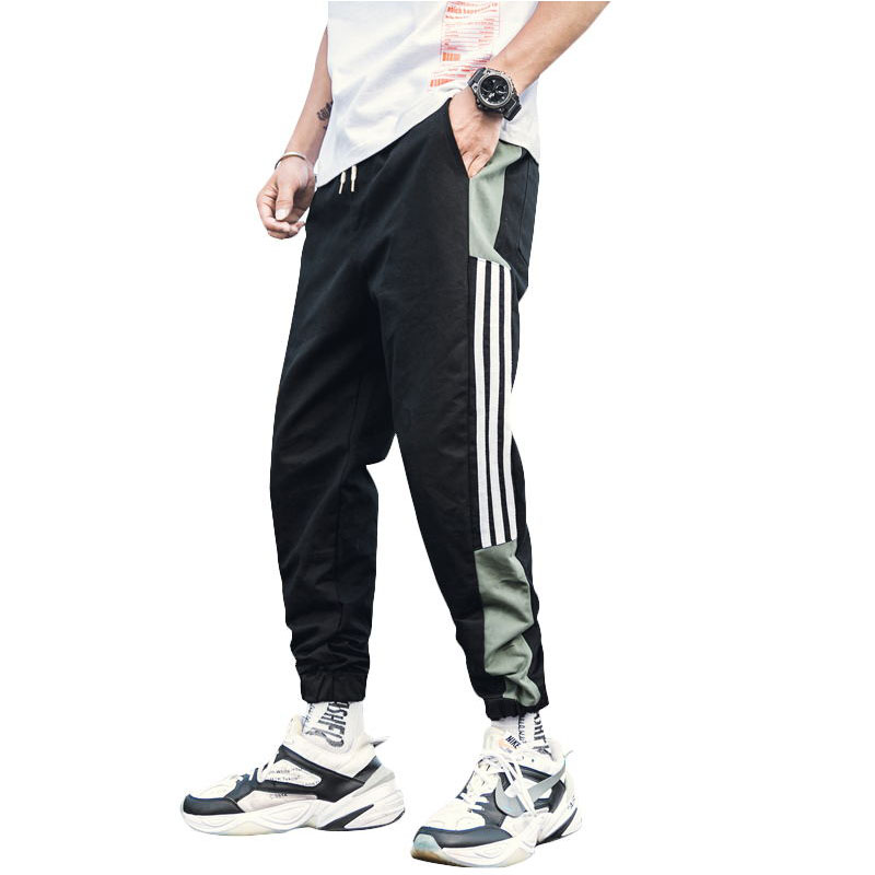 Summer Thin Pants Hiphop Pants Men Harlan Microfiber Trouser Sports Plus Size Hip Hop Pants For Man Overalls For Winter NN50CK