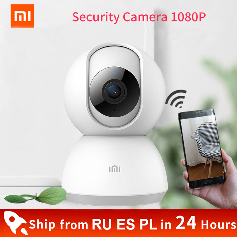 Xiaomi Mijia смарт-камера 1080P HD 360 градусов видеокамера веб-камера с инфракрасным прибором ночного видения двухсторонней голосовой Wi-Fi ip-камера с ...