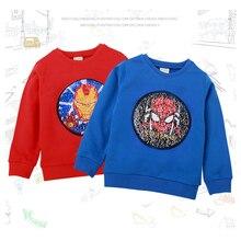 Детская одежда Одежда для мальчиков и девочек Джемпер футболка с длинными рукавами г. Качественная одежда для детей от 2 до 8 лет
