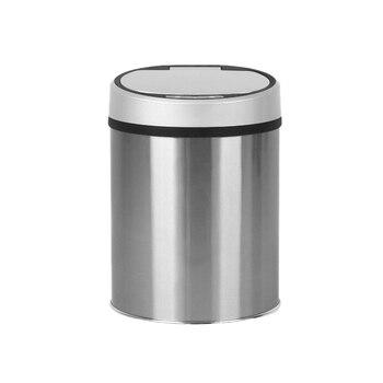 LUDA Compost Bin Stainless Steel Smart Sensor Trash Can Auto Wireless Induction Waste Bin Kitchen Toilet Rubbish Trash
