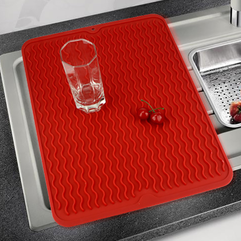Silicone Table Placemat Premium Heat Resistant Drying Mat Tableware Dishwasher Pad Dinnerware Table Mat Dish Cup Cushion|Mats & Pads| |  - title=