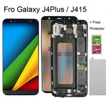 Keit bildschirm Für Samsung J4 J415 SM J415F J415G J415FN lcd display Bildschirm ersatz für Galaxy J4 + 2018 lcd bildschirm