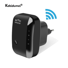 Wireless WIFI Repeater Routers Signal-Booster Expander 300mbps-Range Kebidumei N300 Wps