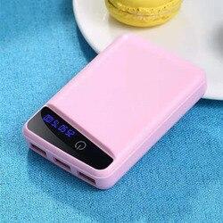 3 шт. 18650 зарядное устройство для аккумулятора чехол для внешнего аккумулятора DIY Box 3 USB порта QJY99