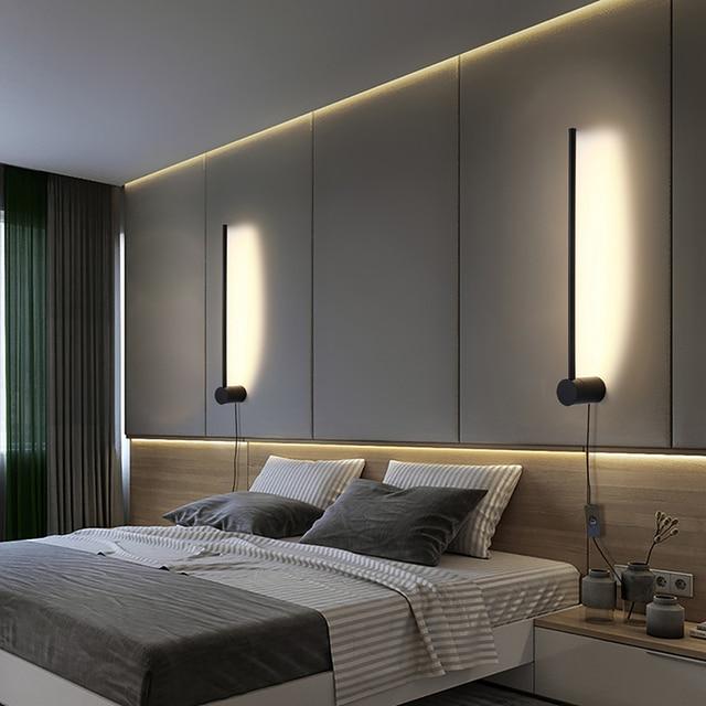 Minimalist Vertical Strip Lamp