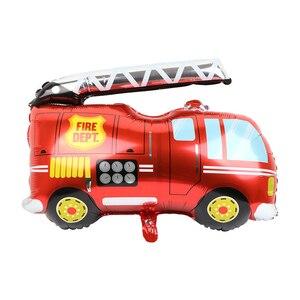 Новая тележка для мороженого, алюминиевый воздушный шар, трактор, бульдозер, пожарная машина, машина скорой помощи, школьный автобус, воздушный шар из алюминиевой фольги