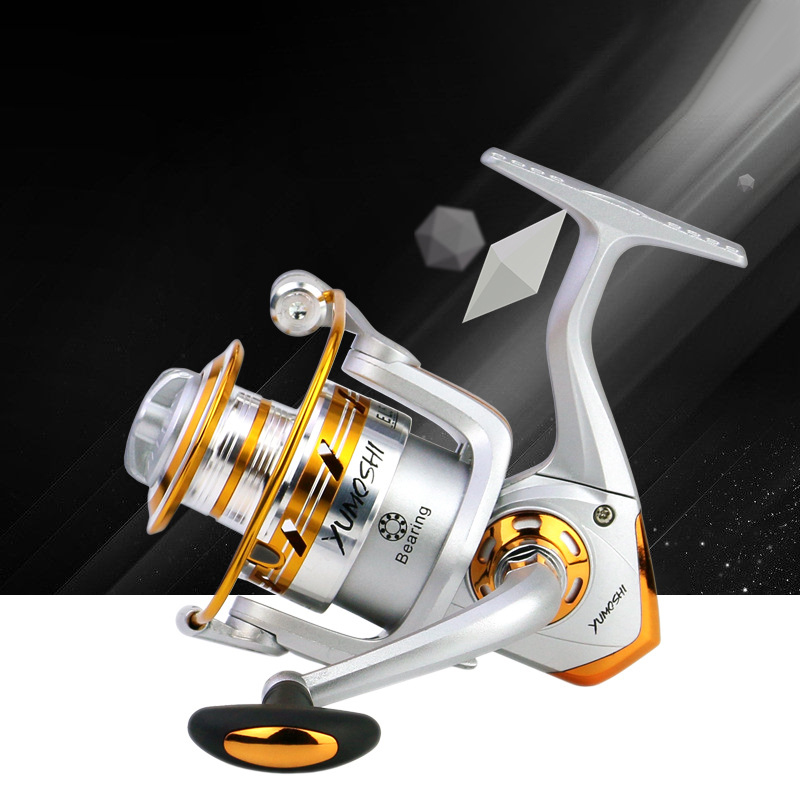 5.5:1 high speed spinning fishing reel All Metal Spool fishing wheel Left/Right Hand Fishing Reel Saltwater Carp fishing gear|Fishing Reels| |  - title=