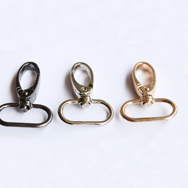 Hot Sale Silver Gold Metal Snap High Quality Hook Swivel Eye Trigger Clip Clasp For Craft Bag Strap Belt Accessories For Bags