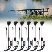 JY-SW-16 Tension Flash Hard Rod Rocker with Flat Clamp Carp Fishing Equipments Flash Hard Pole Fishing Swinger Bait Alarms(China)