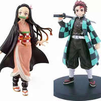 NEUE Anime Dämon Slayer Kimetsu keine Yaiba Kamado Nezuko Kamado Tanjirou PVC Action Figure Sammeln Modell Spielzeug Geschenke