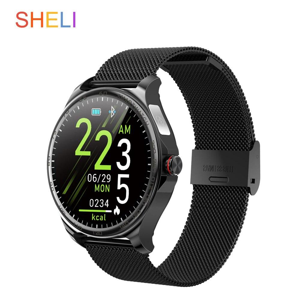 Купить новые водонепроницаемые умные часы с сенсорным экраном bluetooth