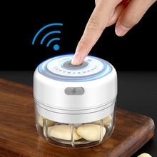 Cordless Portable Electric Mini Garlic Crusher Masher USB Charging Food Onion Chopper Vegetable Cutter Kitchen Gadgets
