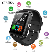 U8 Bluetooth Smart Watch Wristwatch Smartwatch With Sleep Monitor Remote Camera Pedometer For IPhone Samsung Smartphone