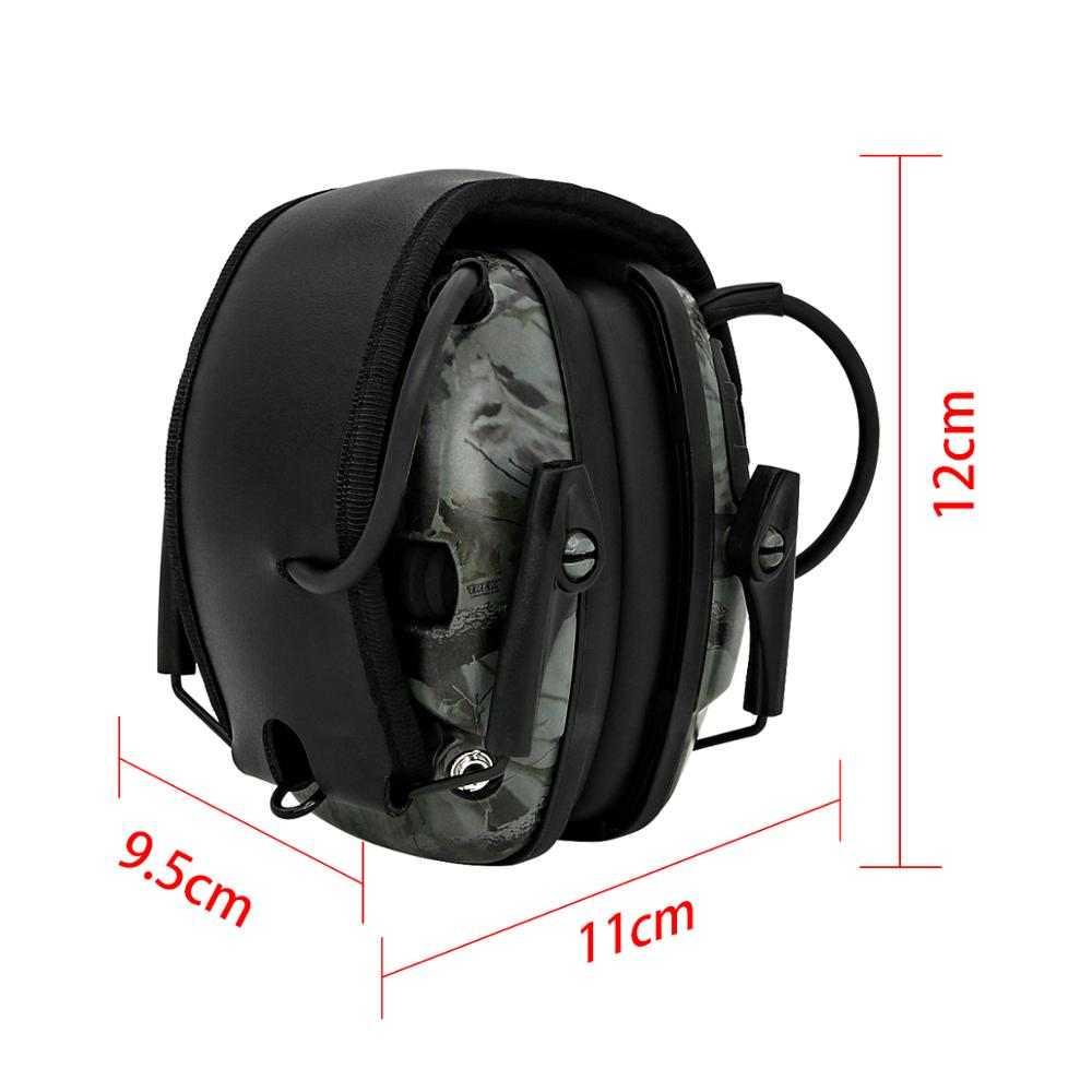 Image 2 - Electronic Ear muff Tactical Headset Anti noise Sound Amplification Shooting Hunting Hearing protection Protective EarmuffsEar Protector   -