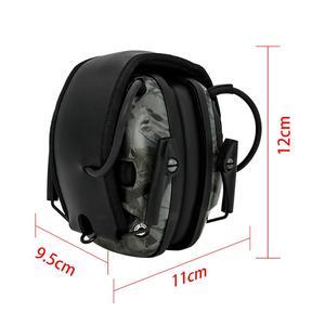 Image 2 - Orejeras tácticas electrónicas para caza, auriculares tácticos para caza, antiruido, amplificación del sonido, protección auditiva