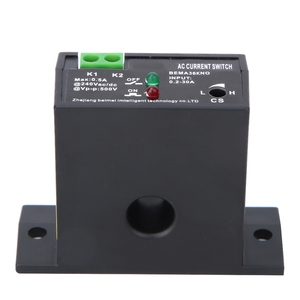 Flameproof Adjustable AC Sensing Switch 0.2~30A Self-Powered Sensing Switch Electric Power Monitoring Switch Accessories