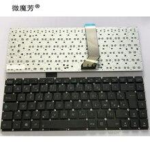 Французская клавиатура с раскладкой AZERTY для Asus X402C S400CB S400C X402 F402C S400 S400CA x402CA FR
